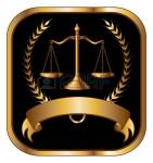 41626695-Закон-или-юрист-Печать-золото